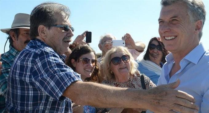 Macri inauguró puente en Entre Ríos y dijo que