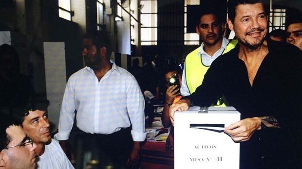 Elecciones en San Lorenzo: Tinelli y Lammens, los favoritos, ya pasaron por la urna