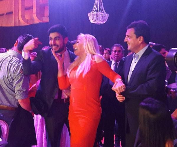 Susana Giménez, la estrella en la fiesta del gremio de Facundo Moyano