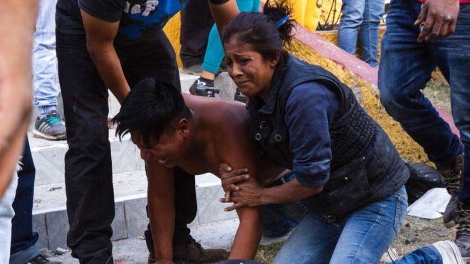 México:fuerte explosión en mercado de pirotecnia en Tultepec