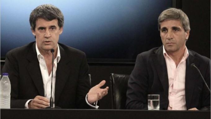 Con la salida de Prat Gay dividen el ministerio entre Dujovne y Luis Caputo