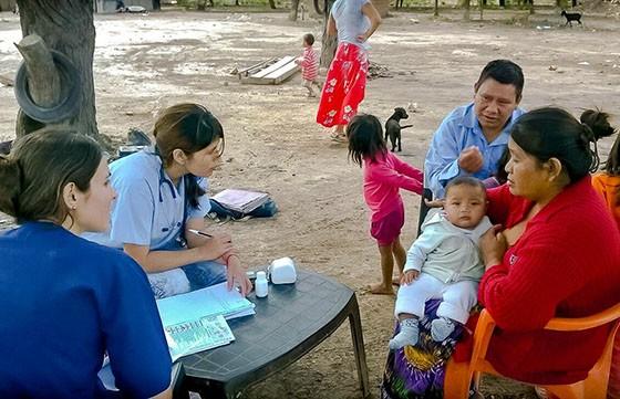 Los médicos del Refuerzo Estival recorren el departamento Rivadavia
