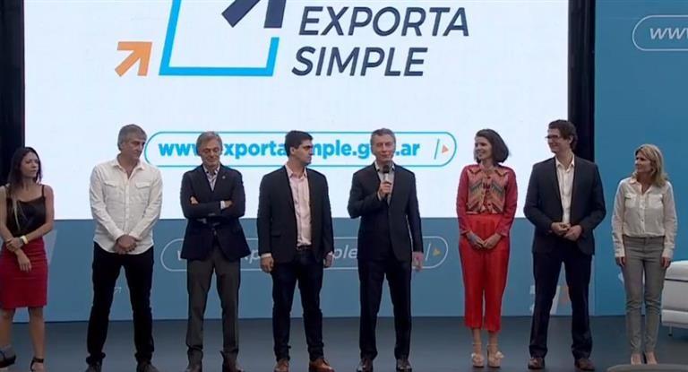 El Presidente lanzó plataforma para facilitar exportación a pymes