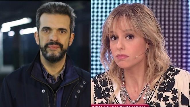 Mariana Fabbiani cruzo a Martín Ciccioli en pleno programa