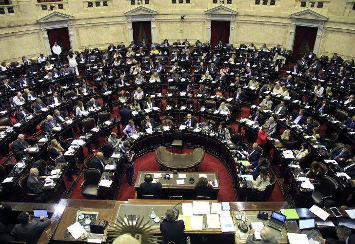 Juraron los 127 diputados electos en el Congreso Nacional