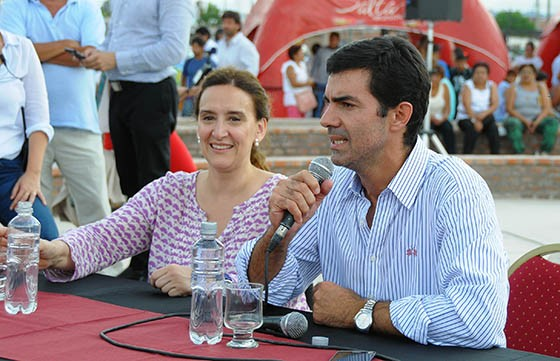 Urtubey y Michetti inaugurarán obras comunitarias en Pichanal
