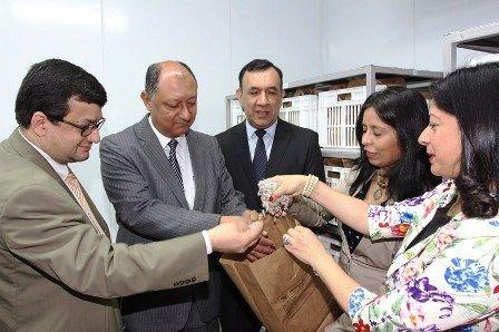 Paraguay inauguró una cámara fría para la conservación de semillas