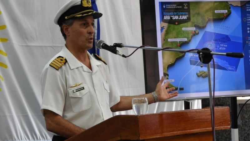 La Armada explicó por qué es tan difícil encontrar al ARA San Juan