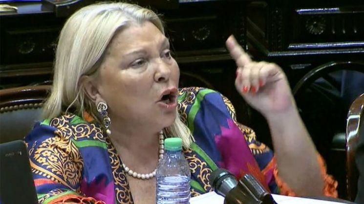 Carrió: Hicimos prevalecer la paz sobre la violencia