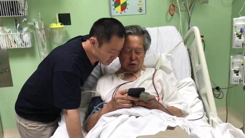 La reacción Fujimori al enterarse de su indulto