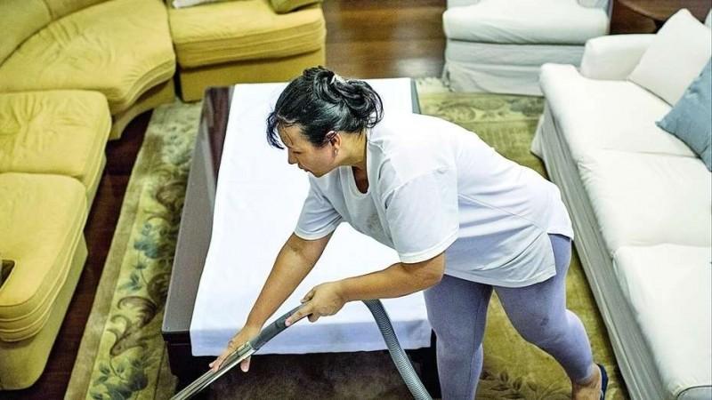 Rige el aumento para trabajadores de casas particulares