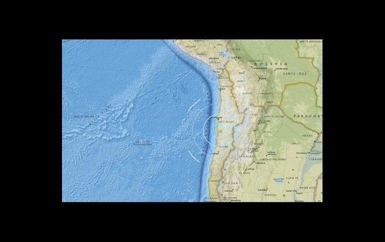 Sismo de 5.4 grados sacude tres regiones de Chile