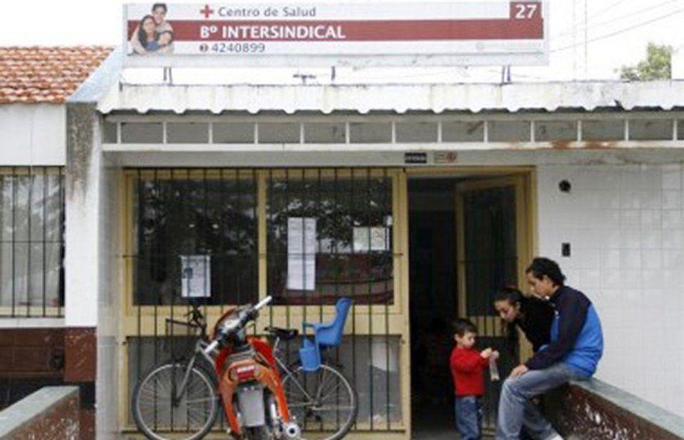 Inauguración ampliación obras centro salud intersindical