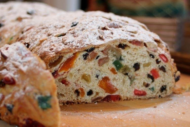 Pan de Navidad o dulce para celíacos