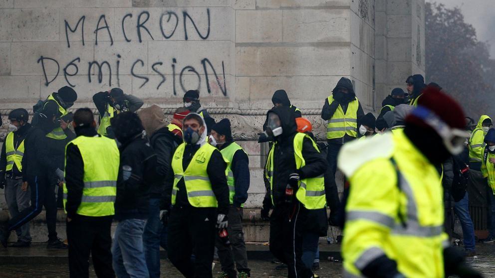 Presión máxima sobre Macron