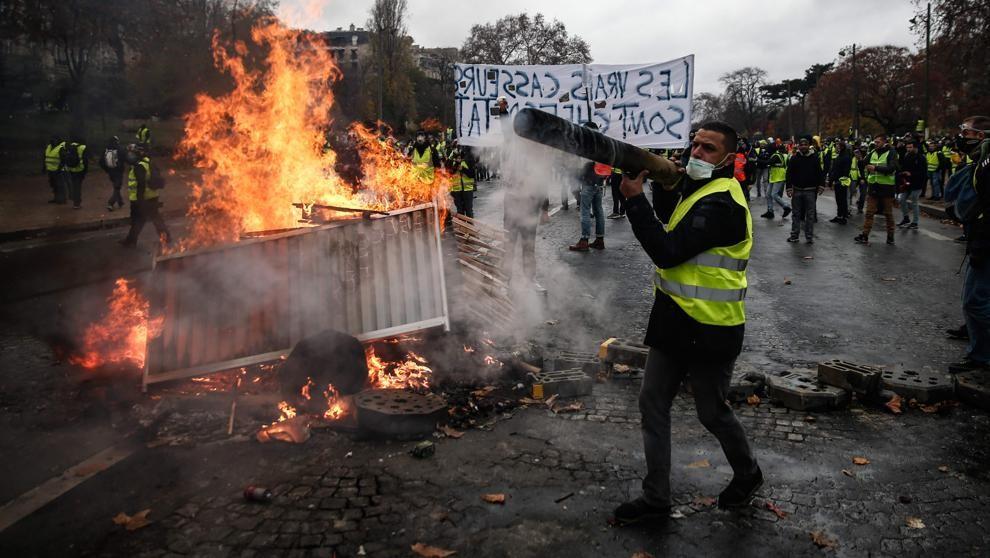 París se blinda este sábado ante posible protestas