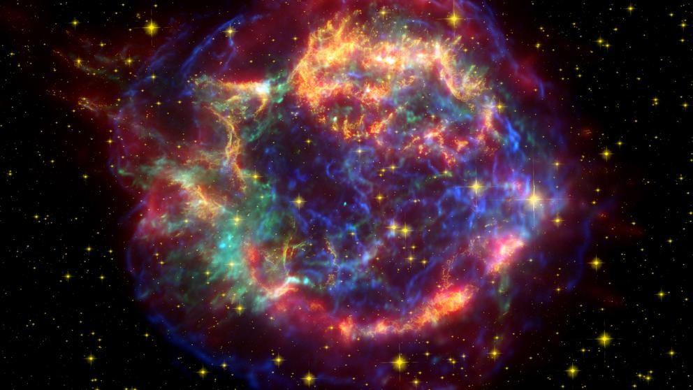 Un niño descubre una supernova