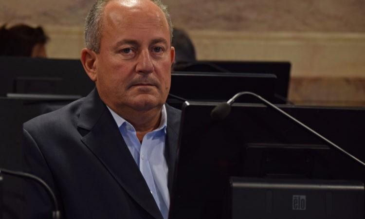 Juan Carlos Marino renuncio fueros