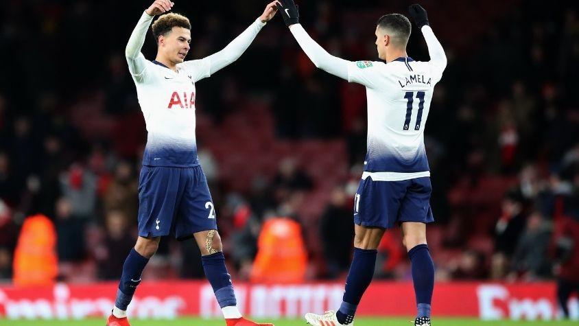 Tottenham vence al Arsenal clasificando a las semifinales
