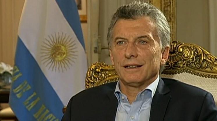 Macri: me gustaría darles un abrazo fuerte, largo y silencioso