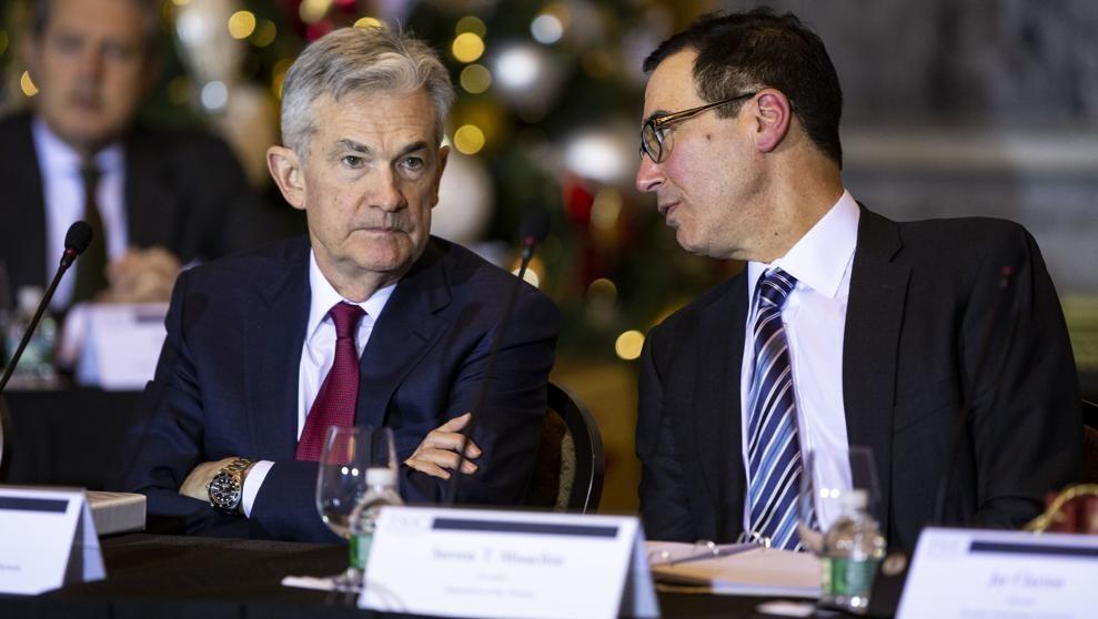 El Tesoro de Estados Unidos busca tranquilizar a la banca