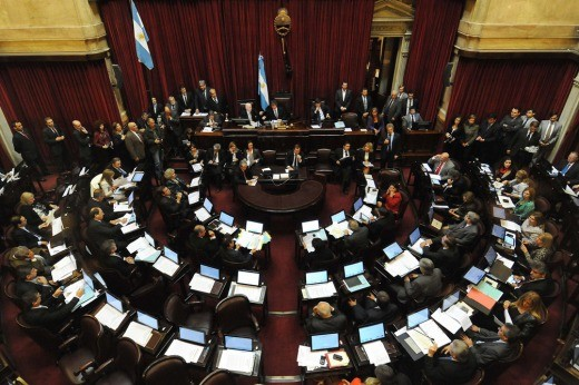 El Senado convocado a sesionar en febrero