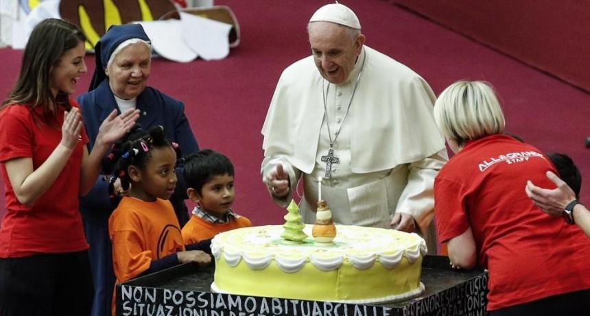 El Papa Francisco celebra su 82 cumpleaños