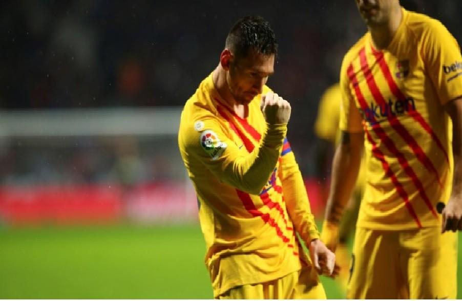 Barcelona le ganó al Atlético y se trepó a la cima