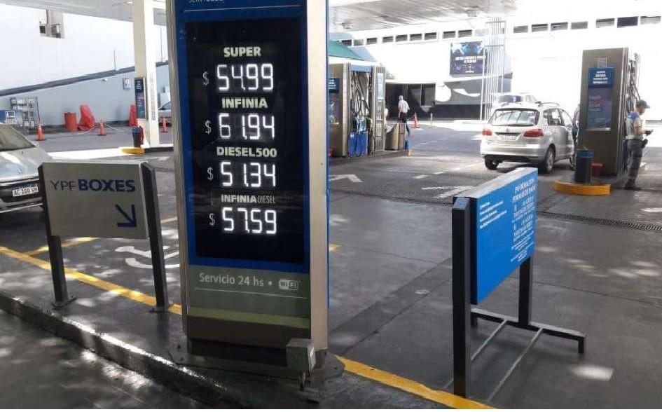 Rige el nuevo precio para los combustibles