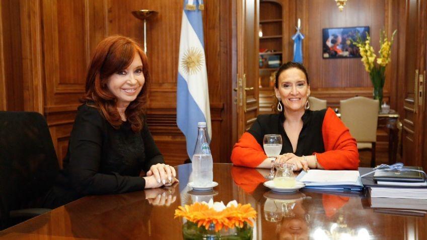 Gabriela Michetti recibió a Cristina Fernandez reunidas por la transición