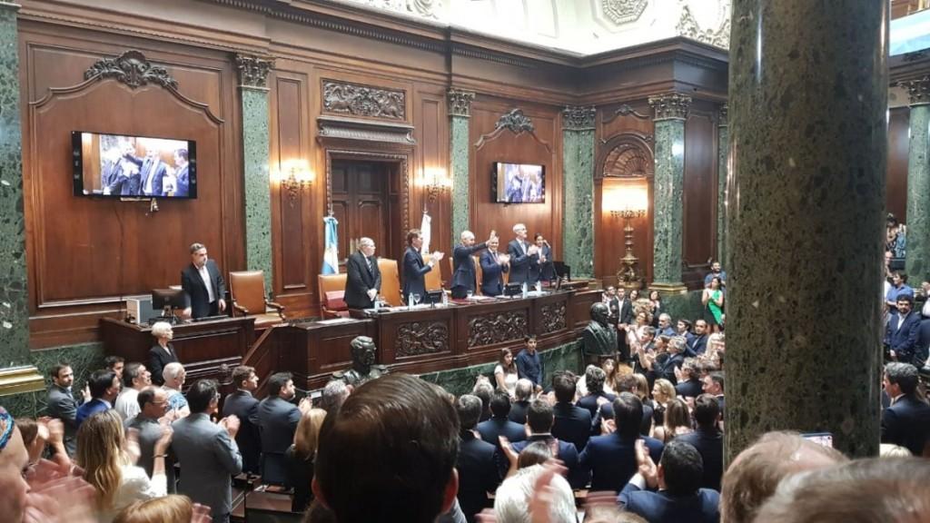 Larreta juró para su segundo mandato como jefe de Gobierno