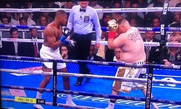 Andy Ruiz debe ser declarado el boxeador del año