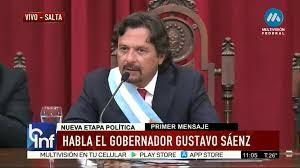 Gustavo Sáenz juró como gobernador de Salta