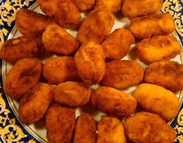 Croquetas de pollo, simples y sabrosas