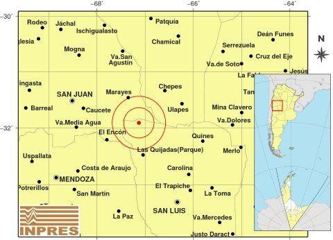 Fuerte temblor en San Luis