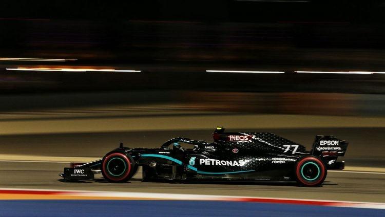Valtteri Bottas se adueñó de la clasificación en el GP de Sakhir