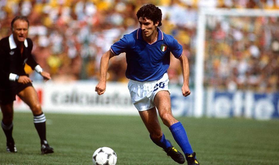 Falleció Paolo Rossi campeón mundial y goleador en España '82