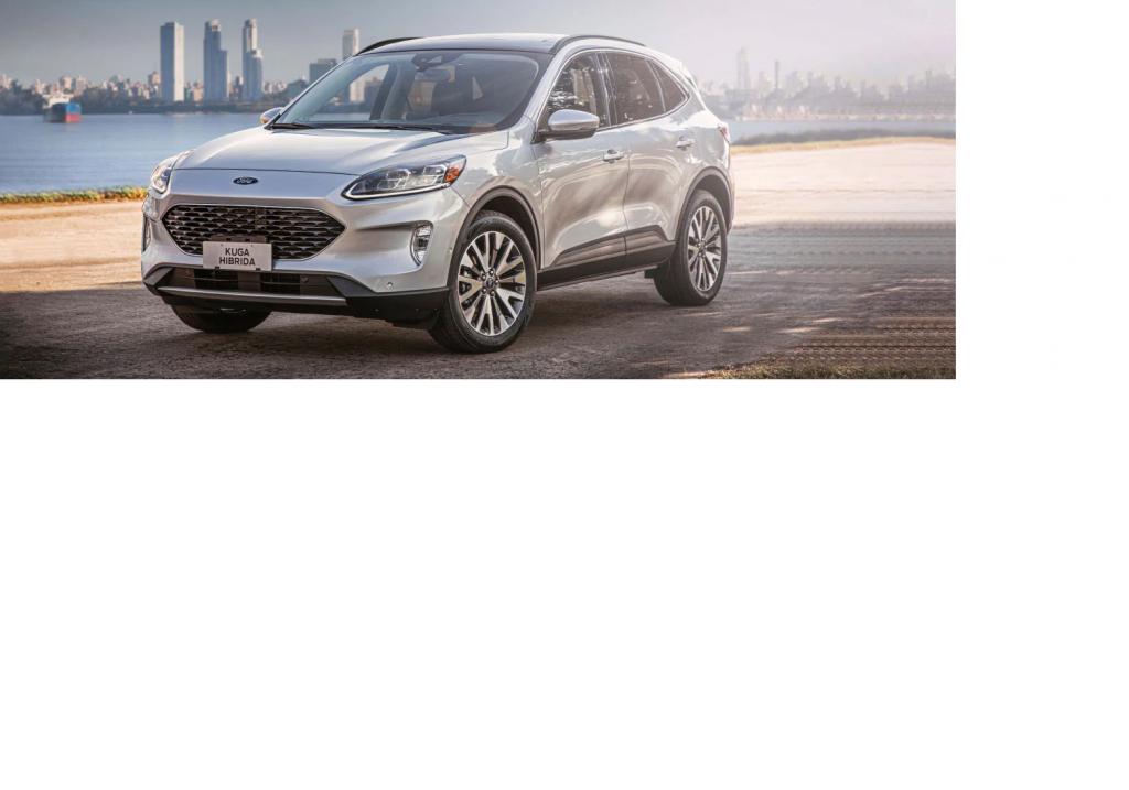 Ford presenta la Kuga Híbrida Titanium