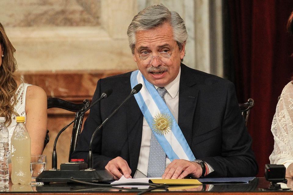 Alberto Fernández analiza su primer año de gestión