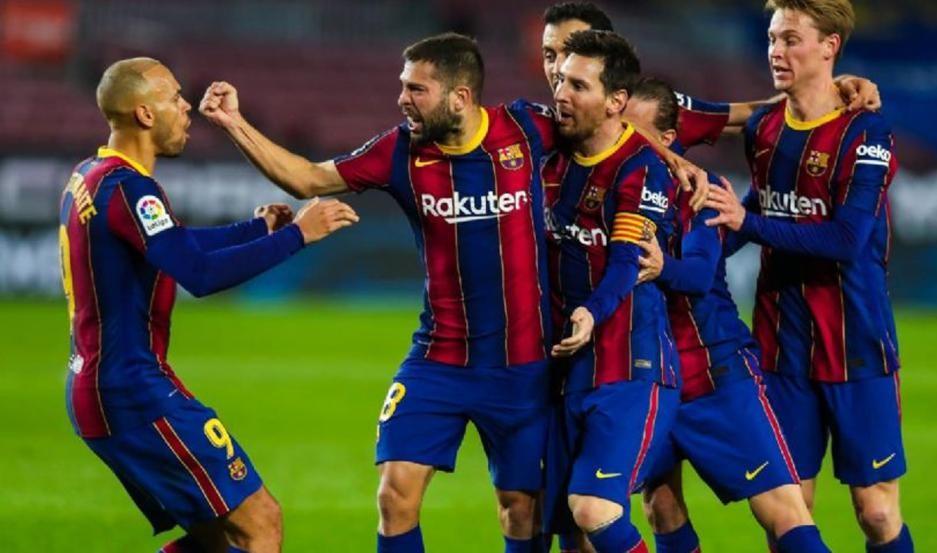 El Barcelona le gano al Real Sociedad por la liga española
