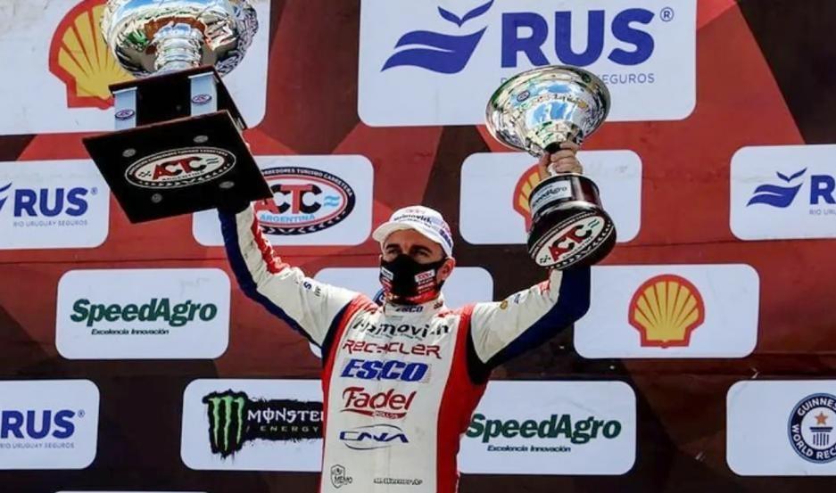 Mariano Werner es el nuevo campeón del Turismo Carretera