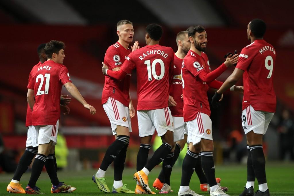 Manchester United goleó a Leeds y entró al podio de la Premier League