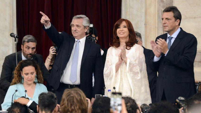 Alberto Fernandez ratifica su gabinete ante las críticas de Cristina