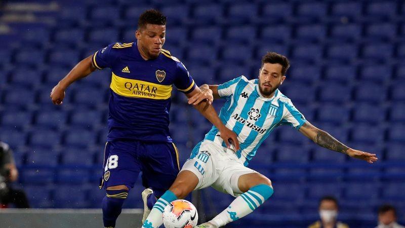 Boca Juniors apabulló a Racing y se metió en semifinales
