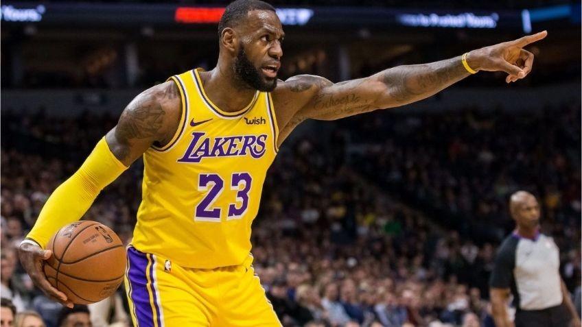 Los Lakers de LeBron y los Nuggets de Campazzo