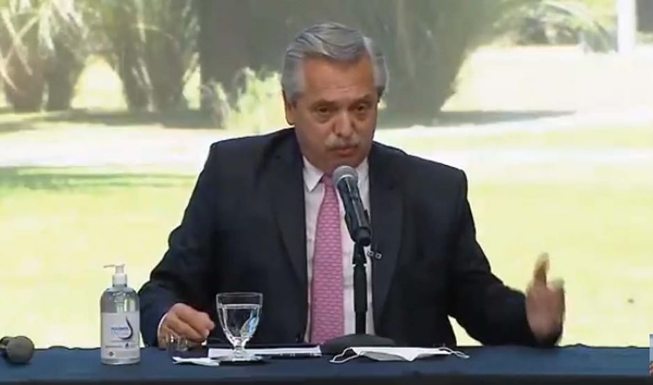 Alberto Fernández anunció la construcción de 3.000 viviendas