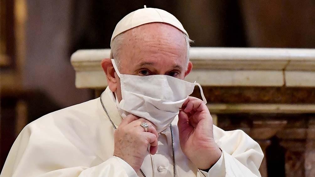 El Papa no estará en las celebraciones de Año Nuevo