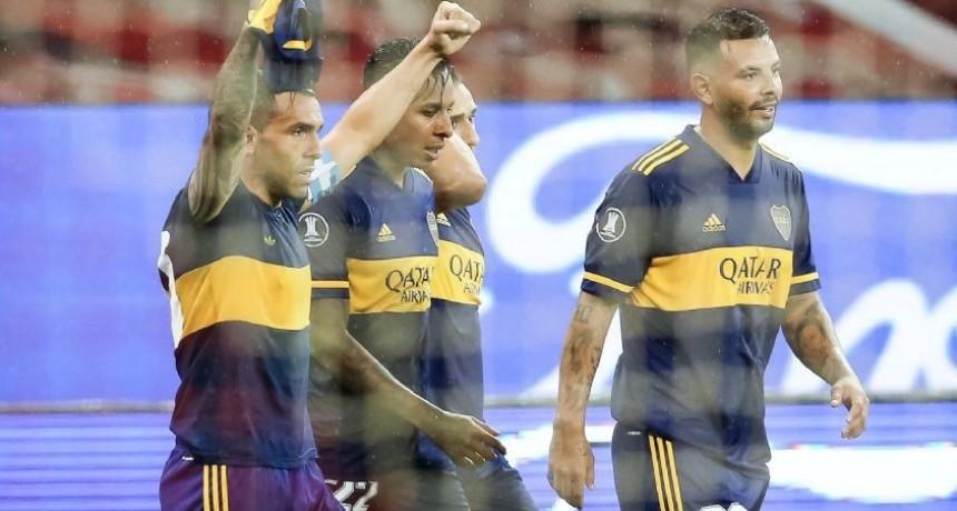 Boca le ganó a Inter en Porto Alegre