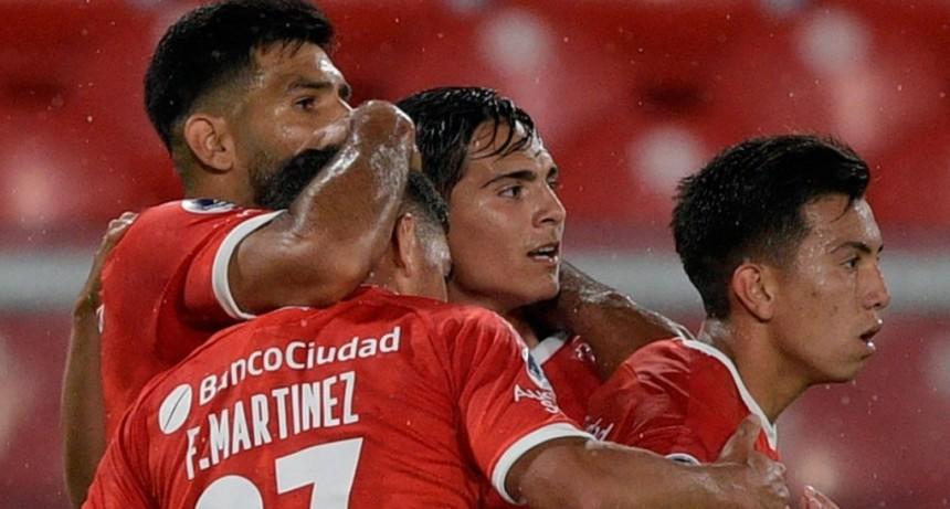 Independiente accedió a los cuartos de Copa Sudamericana