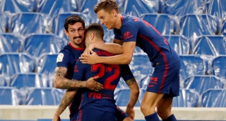 El Atlético de Madrid se afianza en lo más alto de La Liga de España